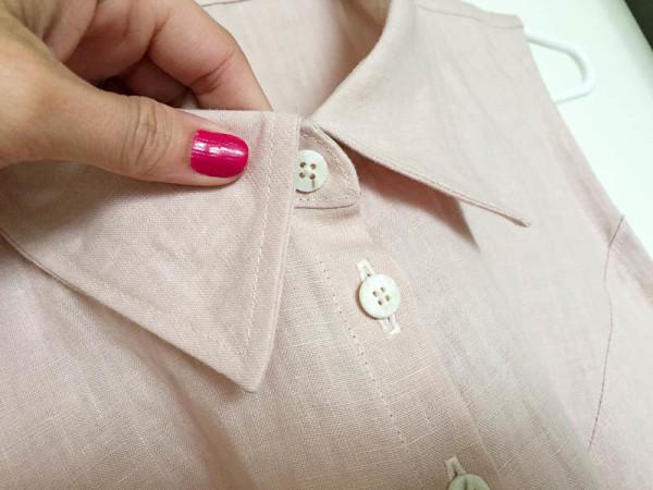 bleuet shirt dress in pale pink linen-1-7