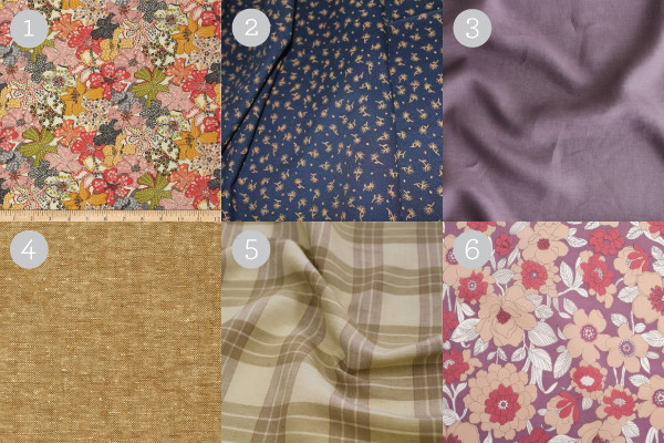 Suggested Harwood Fabrics