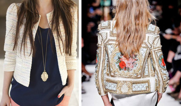 embellished jacket inspiration