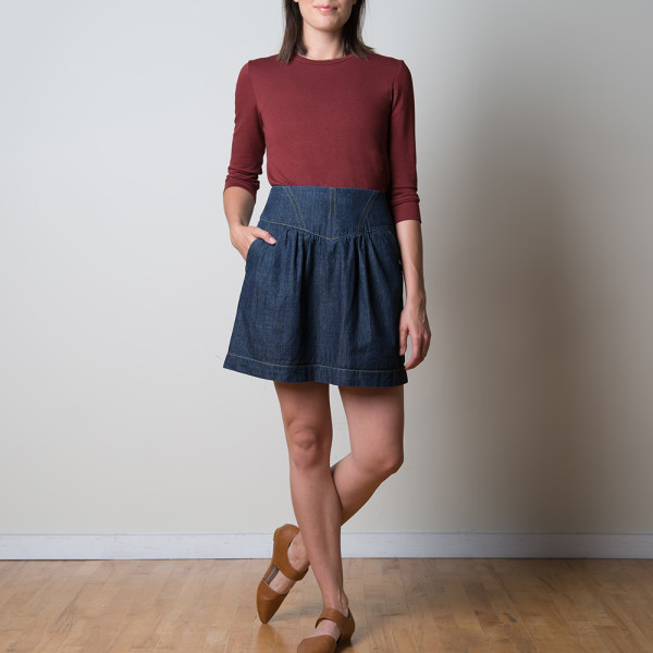 crescent skirt by sewaholic patterns