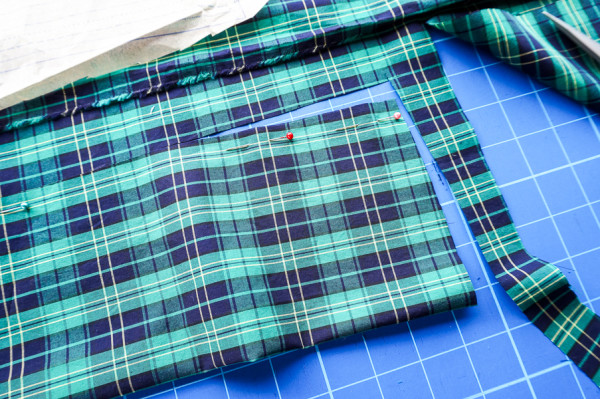 sewing the granville shirt in plaid fabrics-1-13