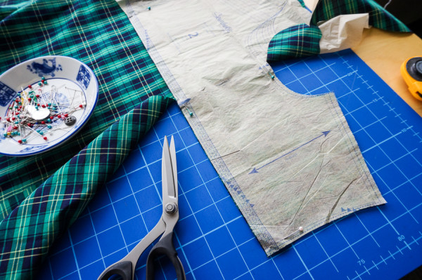 sewing the granville shirt in plaid fabrics-1-15