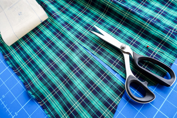 sewing the granville shirt in plaid fabrics-1-18