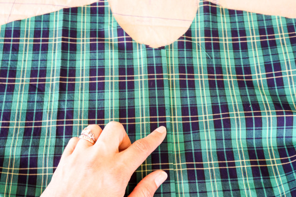 sewing the granville shirt in plaid fabrics-1-3