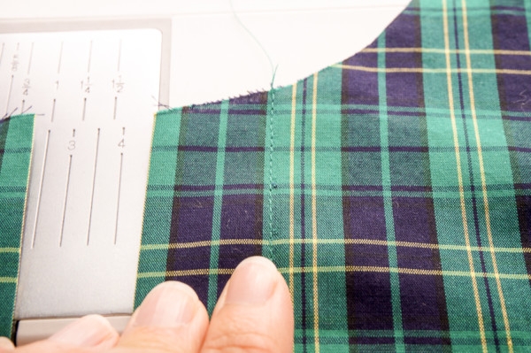 sewing the granville shirt in plaid fabrics-1