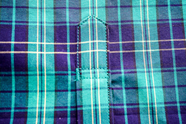 sleeve placket plaid matching on the plaid granville shirt-1-11