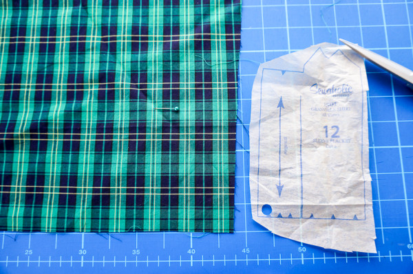 sleeve placket plaid matching on the plaid granville shirt-1