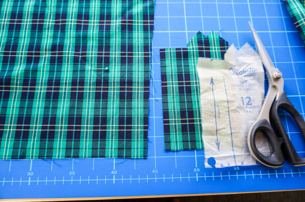 sleeve placket plaid matching on the plaid granville shirt-1-7