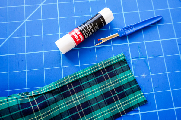 sleeve placket plaid matching on the plaid granville shirt-1-8
