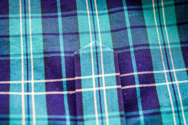 sleeve placket plaid matching on the plaid granville shirt-1-9