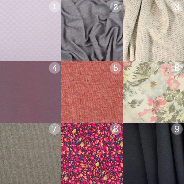 Fraser Sweatshirt Fabrics
