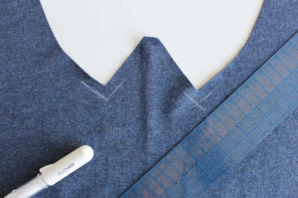 Fraser Sweatshirt Collar Tutorial 5