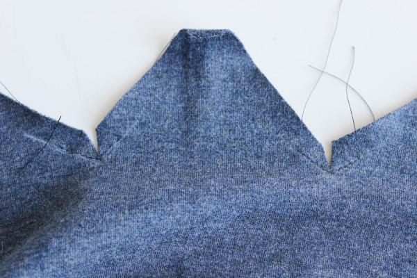 Fraser Sweatshirt Collar Tutorial 8