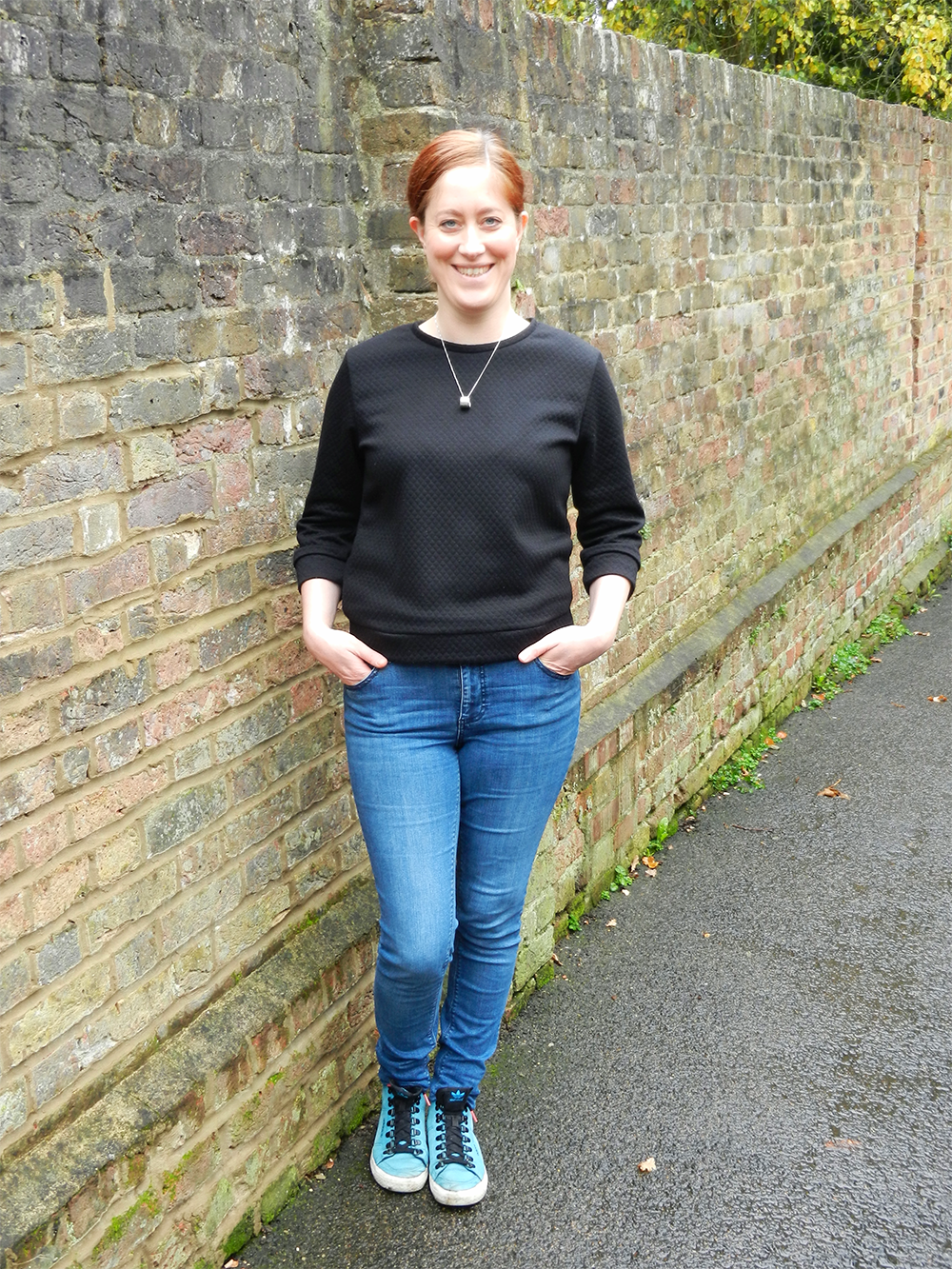 Sarah's Fraser Sweatshirt - Sewing Beautifully 2
